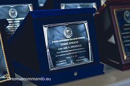 Βράβευση από την Ένωση Αστυνομικών Υπαλλήλων Ν. Πρέβεζας