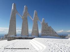 Ανάβαση στο χιονισμένο Ζάλογγο