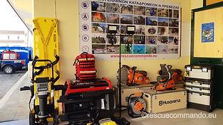 Εκπαίδευση Ειδικού εξοπλισμού διάσωσης από την Weber Rescue