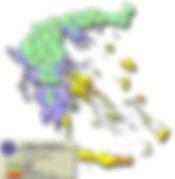 Χάρτης πρόβλεψης πυρκαγιών