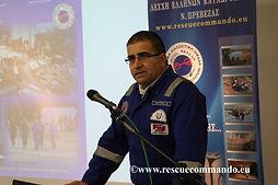 Χαιρετισμός προέδρου ΛΕΚ κου Ράπτη στην Ημερίδα Μαζικών Καταστροφών