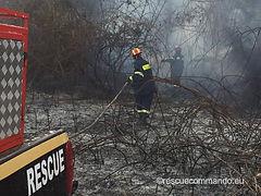 Συνδρομή σε φωτιά στα Φλάμπουρα