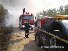 Συνδρομή σε φωτιά Νέας Σαμψούντας και Λούρου