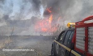 Συνδρομή σε φωτιές στην Πρέβεζα