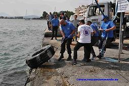 Καθαρισμός λιμανιού Πρέβεζας-Let's do it Greece