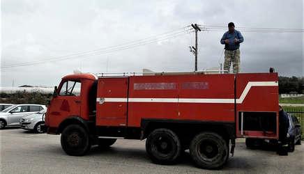 Παραλαβή πυροσβεστικού οχήματος..