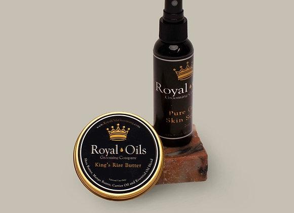 Royal Oils Skin and Beard Kit