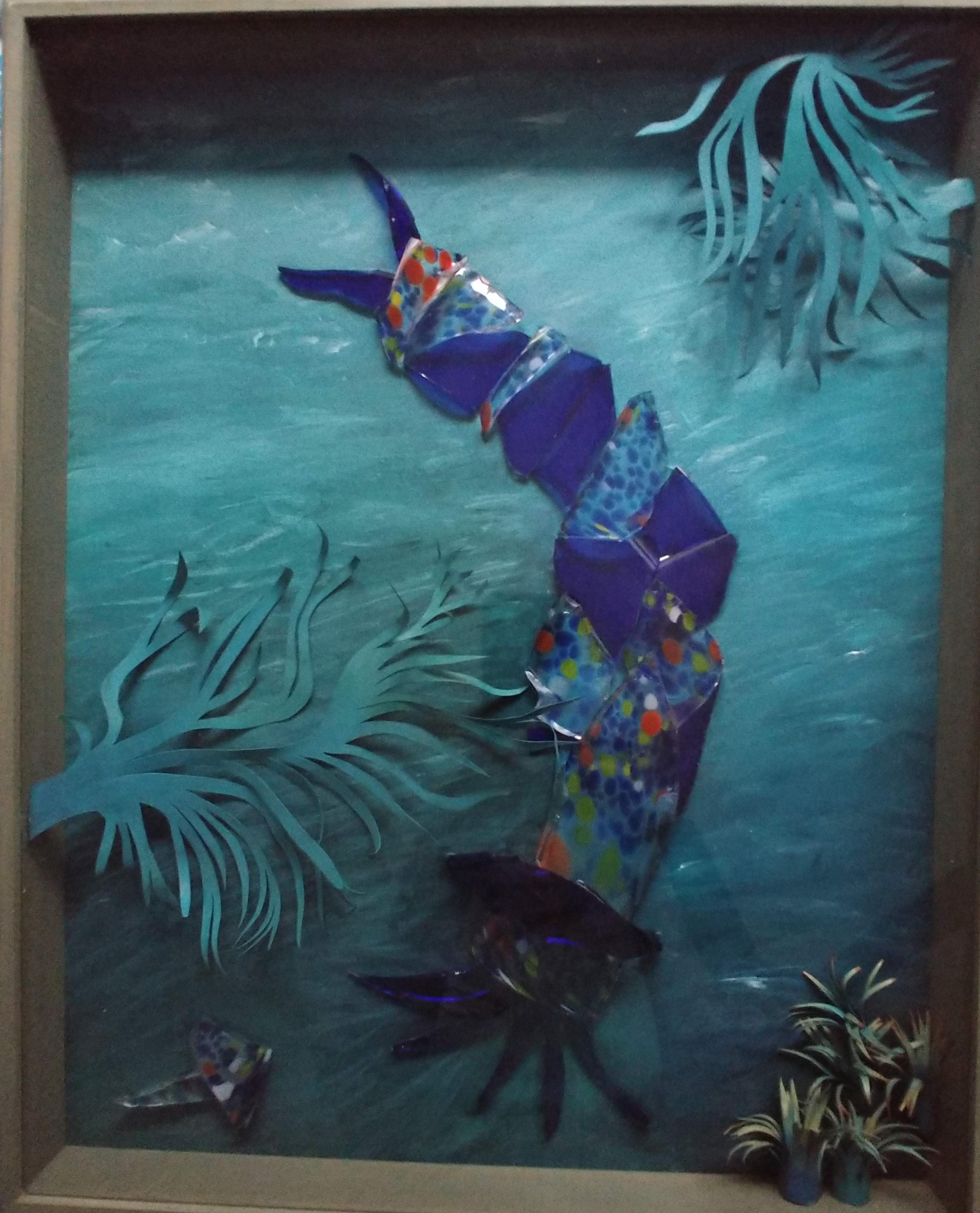 Sea Glass Creature