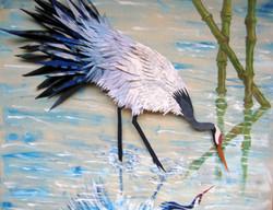 Crane Reflecting