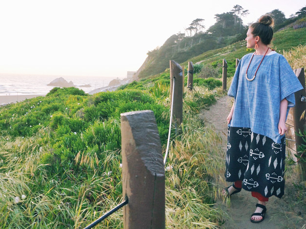 Bring to the Beach: Surf Robes & Loop Necklaces