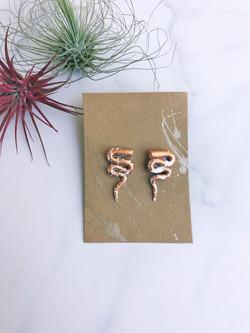 Snake earring 1
