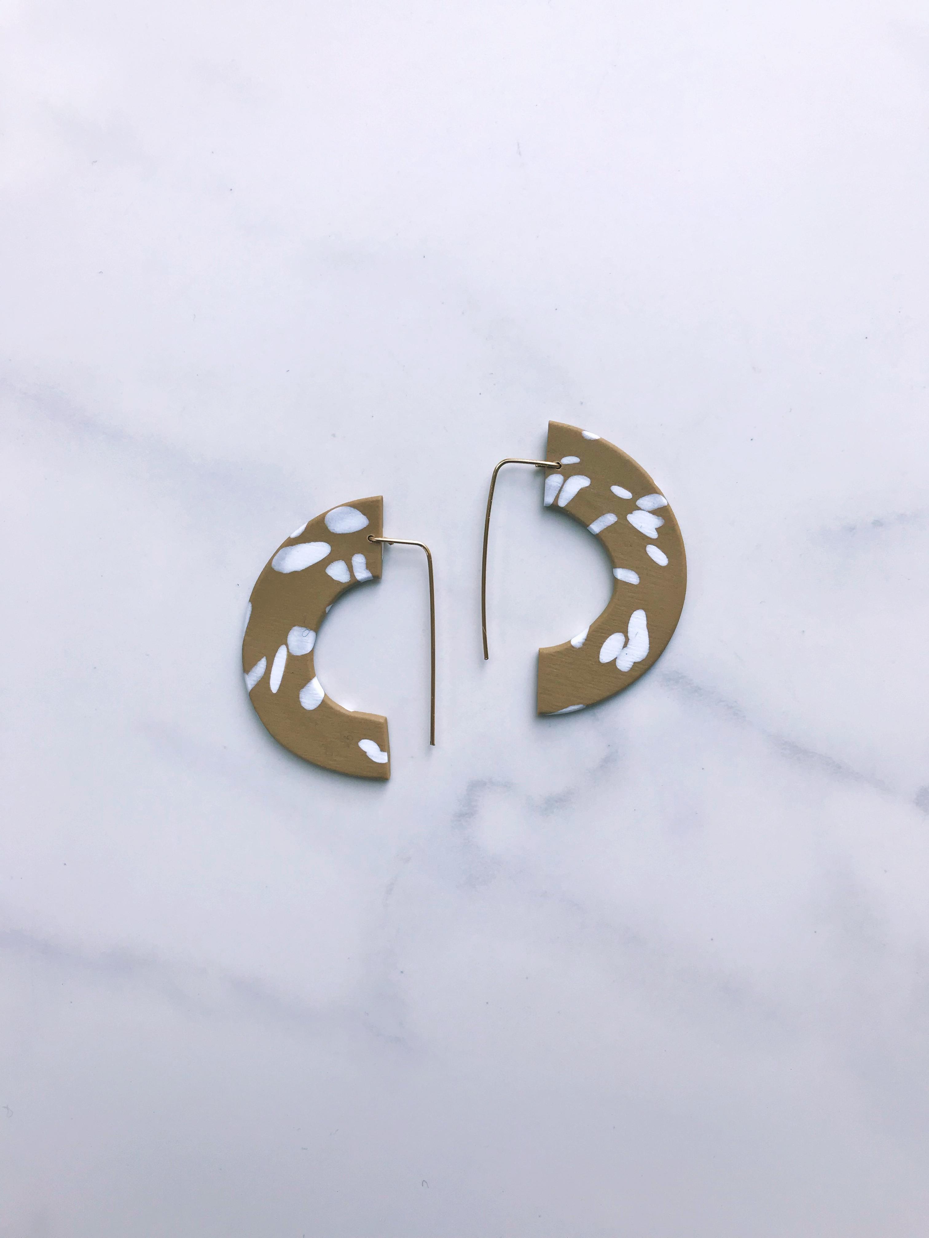 hoop drop earring