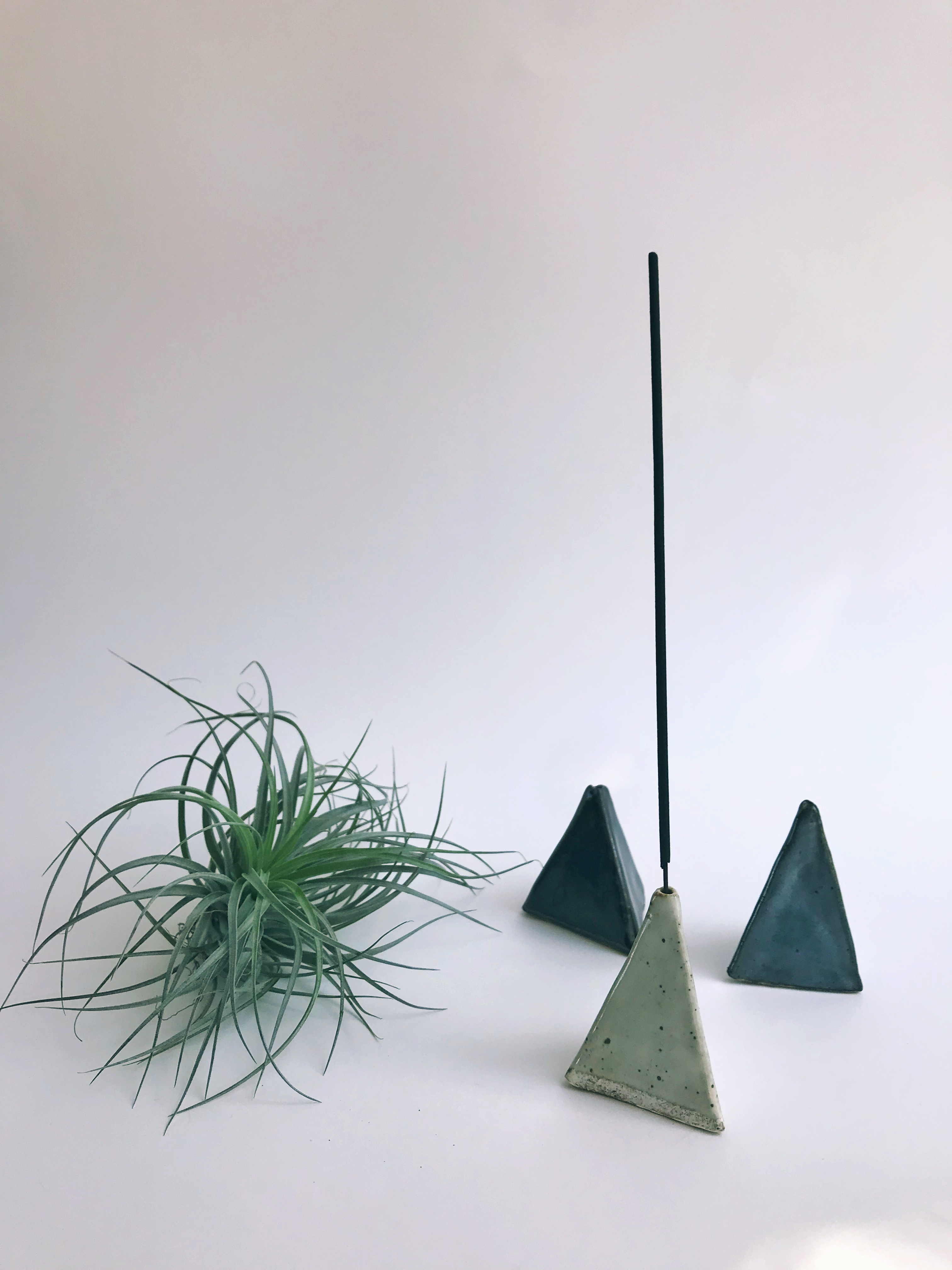 triangle incense holders