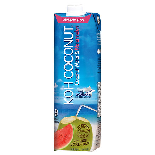 Coconut Water & Watermelon 1L (33.8oz) Tetra Pak