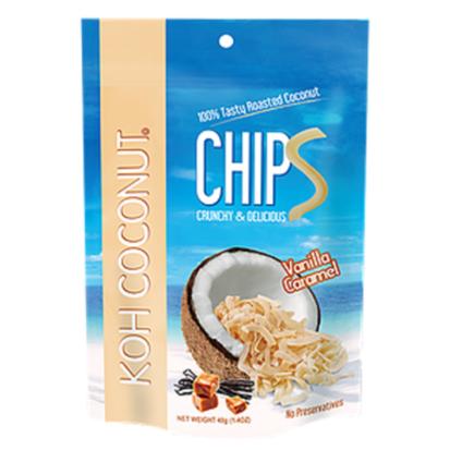 Coconut Chips Vanilla Caramel 40g (1.4oz) Pouch