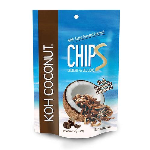 酷椰嶼香椰脆片-巧克力口味 40g