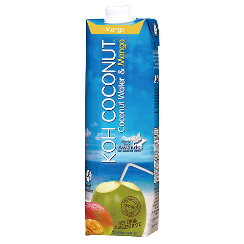 Coconut Water & Mango 1L (33.8oz) Tetra Pak