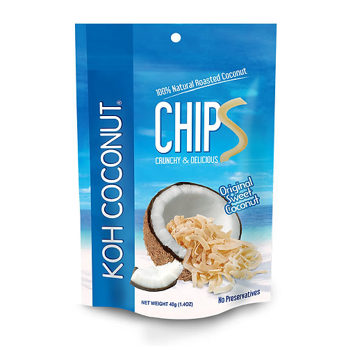 Coconut Chips Original Sweet 40g (1.4oz) Pouch
