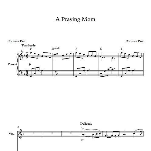 A Praying Mom (Original Version and Variation)