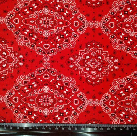 bandana vermelha
