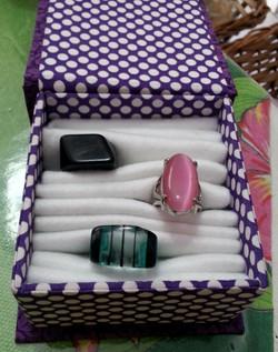 Caixa porta anéis