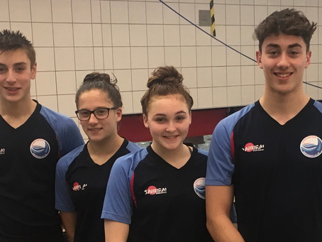 Chesterfield Swimmers Qualify for Swim England Winter National Championships