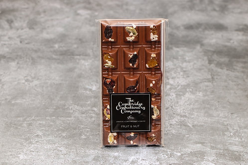 The Cambridge Confectionery Company Milk Chocolate Fruit & Nut Barrel Bar