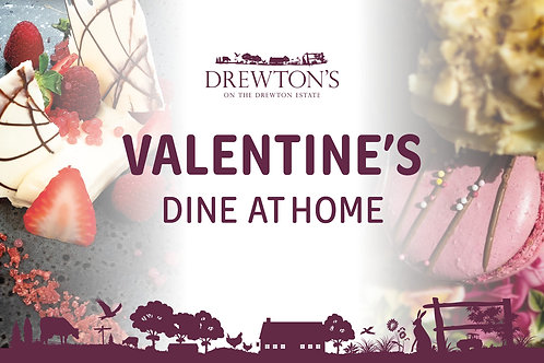 3 Course Valentine's Takeout - Available 12th, 13th, 14th February only