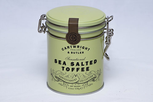 Cartwright & Butler Sea Salted Toffee Tin