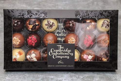 The Cambridge Confectionery Company 18 Luxury Solid Chocolate Domes