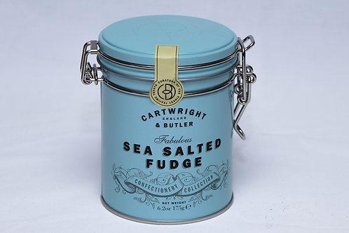 Cartwright & Butler Sea Salted Fudge Tin