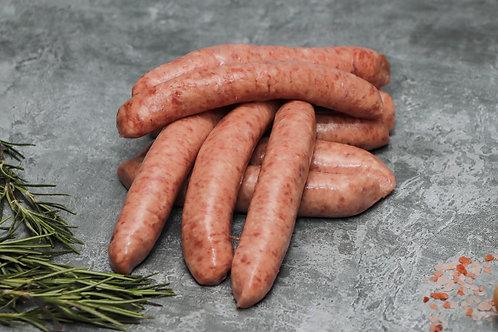 12 Thin Pork Sausages