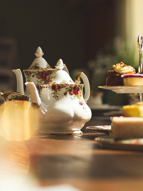 Mothers Day Sparkling Afternoon Tea Gift Voucher - Sunday 19th March, 2021