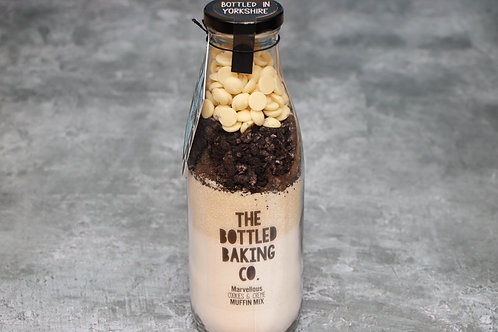 The Bottled Baking Co  Marvellous Cookies & Creme Muffins Cake Mix