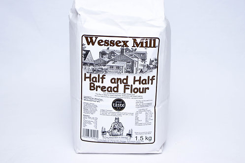 Wessex Mill Half and Half Bread Flour 1.5kg