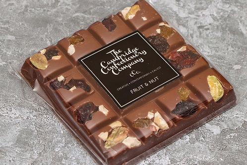 The Cambridge Confectionery Company Milk Fruit & Nut Chocolate Square 100g