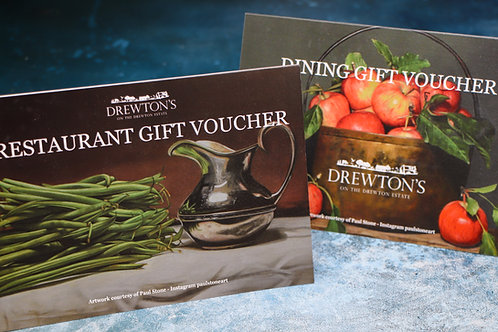 £30 Dining Room Gift Voucher