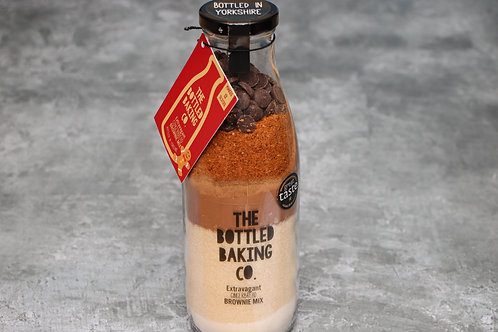 The Bottled Baking Co Extravagant Gingerbread Brownie Mix