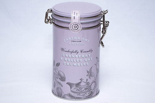 Cartwright & Butler Cranberry & Rolled Oat Crumbles Tin