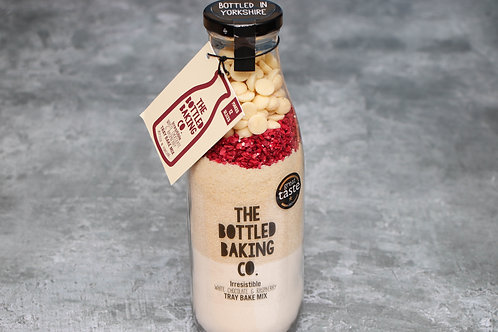 The Bottled Baking Co Irresistible White Chocolate & Raspberry Tray Bake