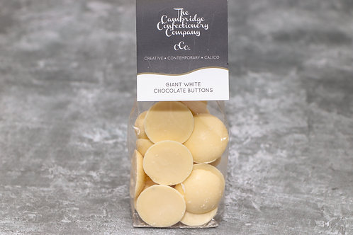 The Cambridge Confectionery Company Giant White Chocolate Buttons