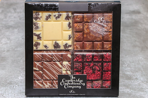 The Cambridge Confectionery Company Chocolate Squares Variety Box