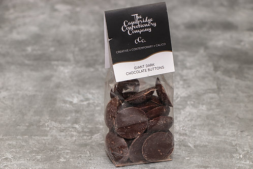 The Cambridge Confectionery Company Giant Dark Chocolate Buttons