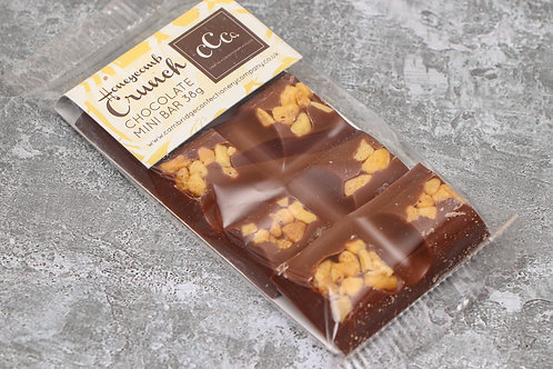 The Cambridge Confectionery Company Honeycomb Crunch Mini Chocolate Bar