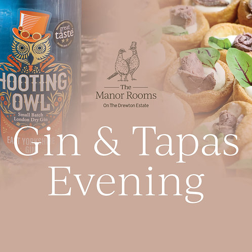 Gin & Tapas Evening