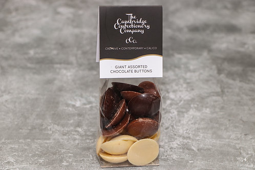 The Cambridge Confectionery Company Giant Assorted Chocolate Buttons