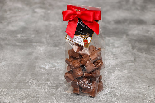 The Cambridge Confectionery Company Salted Caramel Solid Chocolate Reindeers