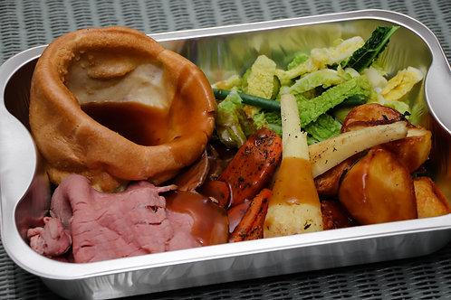 Child/Pensioner Small Sunday Roast Beef