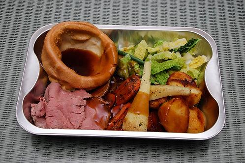 Hot Sunday Roast Beef