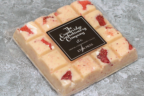 The Cambridge Confectionery Company Eton Mess Chocolate Square